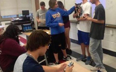 Dog Rescue Club at Local High School!