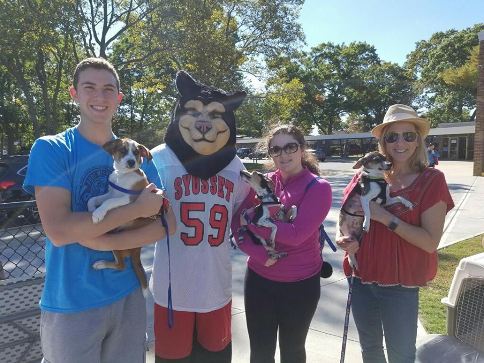 Syosset High School Dog Rescue Club Raises $800 for Ruff House!