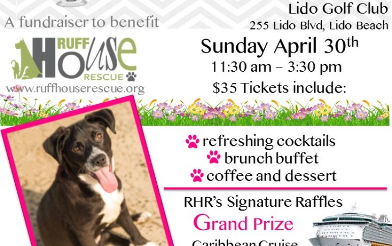 Mutts and Mimosa's at the Lido Golf Course Sunday, April 30th 11:30am – 3:30pm