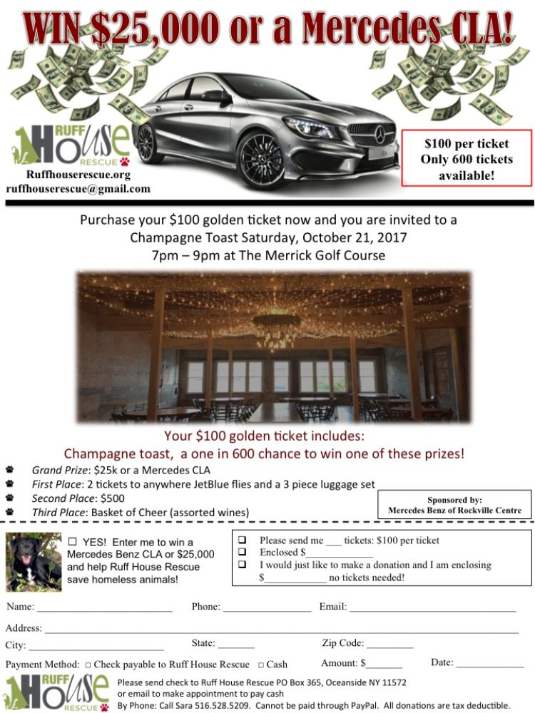 Win $25,000 or a Mercedes CLA