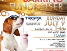 3rd Annual Beach Barking Fundraiser! Sunday July 9th