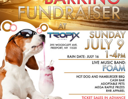 3rd Annual Beach Barking Fundraiser! Sunday July 9th