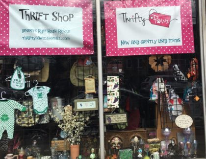 Thrifty Pawz 4 Centre Avenue in East Rockaway.. Shop for everything, Donate your items, Volunteer clerk
