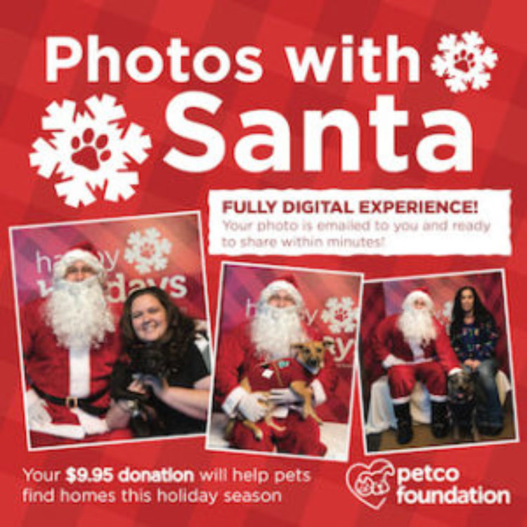 Petco Adoptions and Photos with Santa!